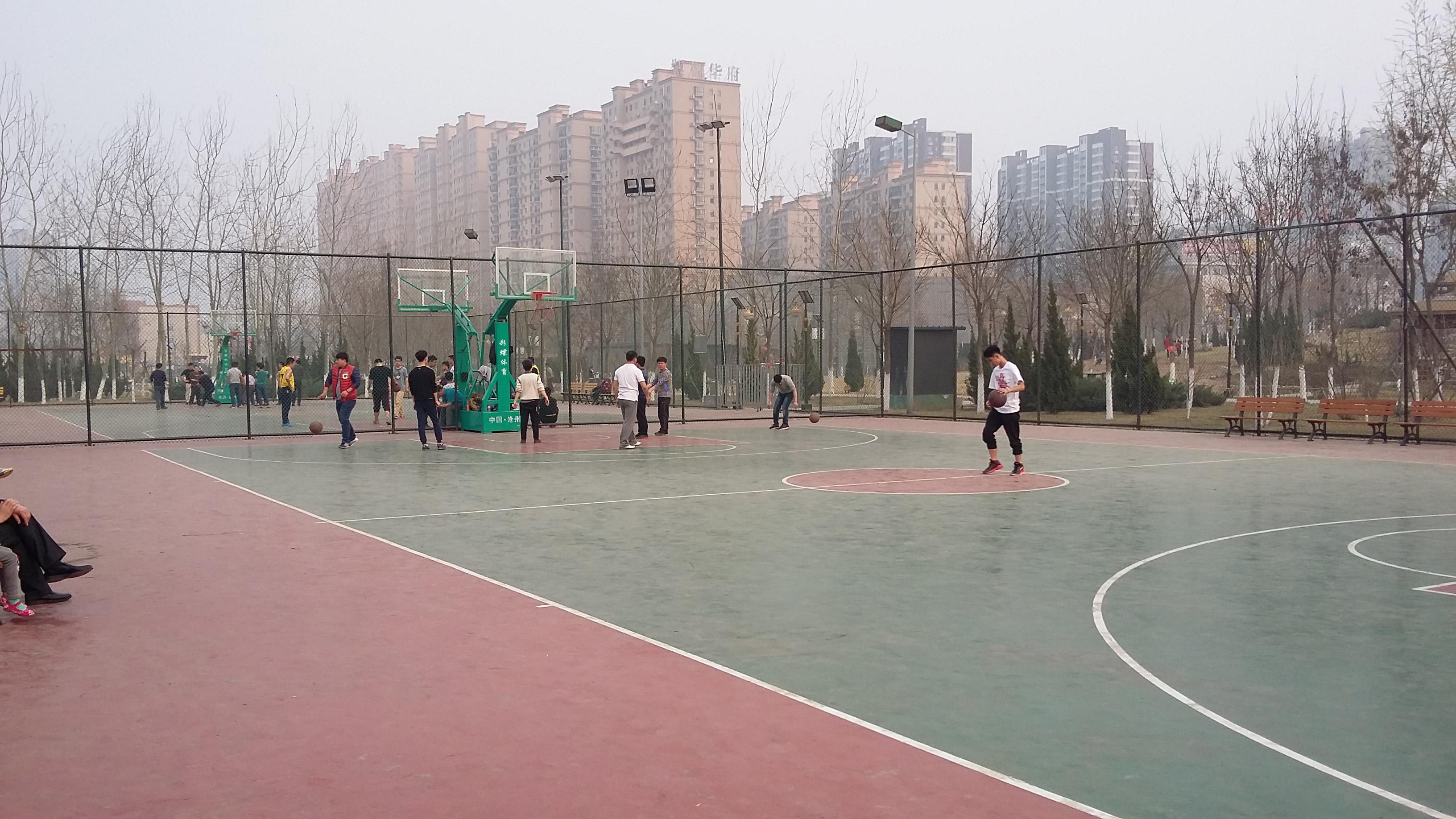 八五三农场篮球场