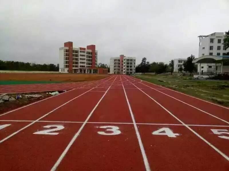 沧州职教中心塑胶跑道